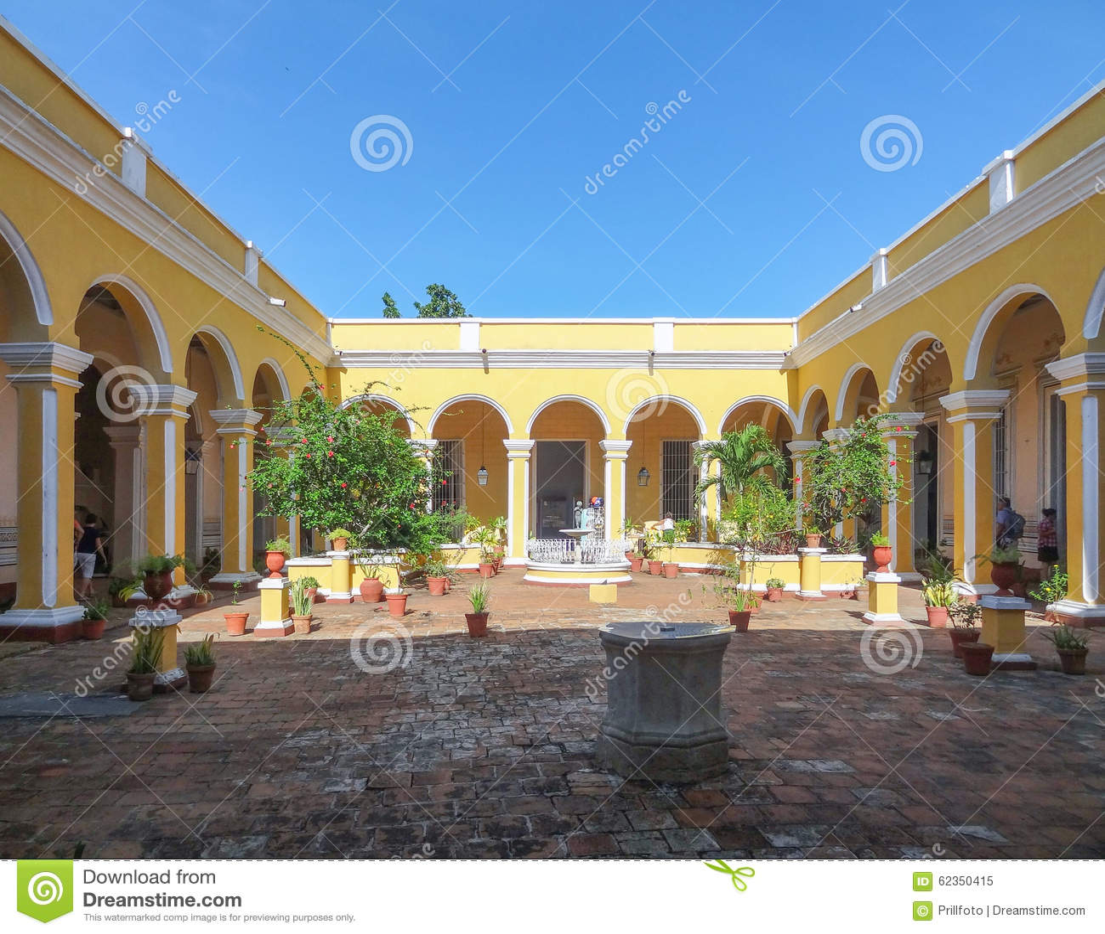 Palacio Cantero au Trinidad au Cuba