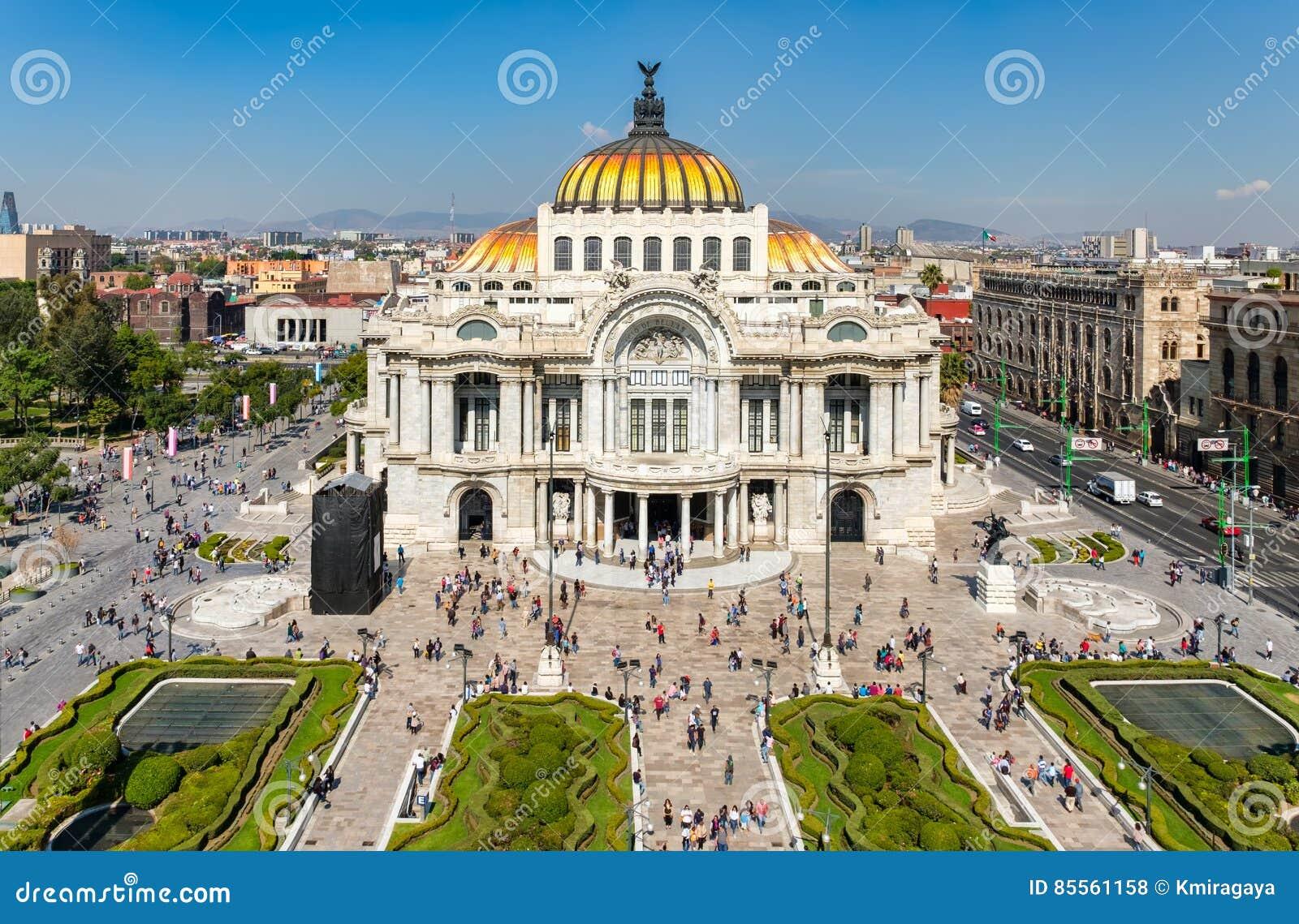 Palacio de Bellas Artes or Palace of Fine Arts in Mexico City
