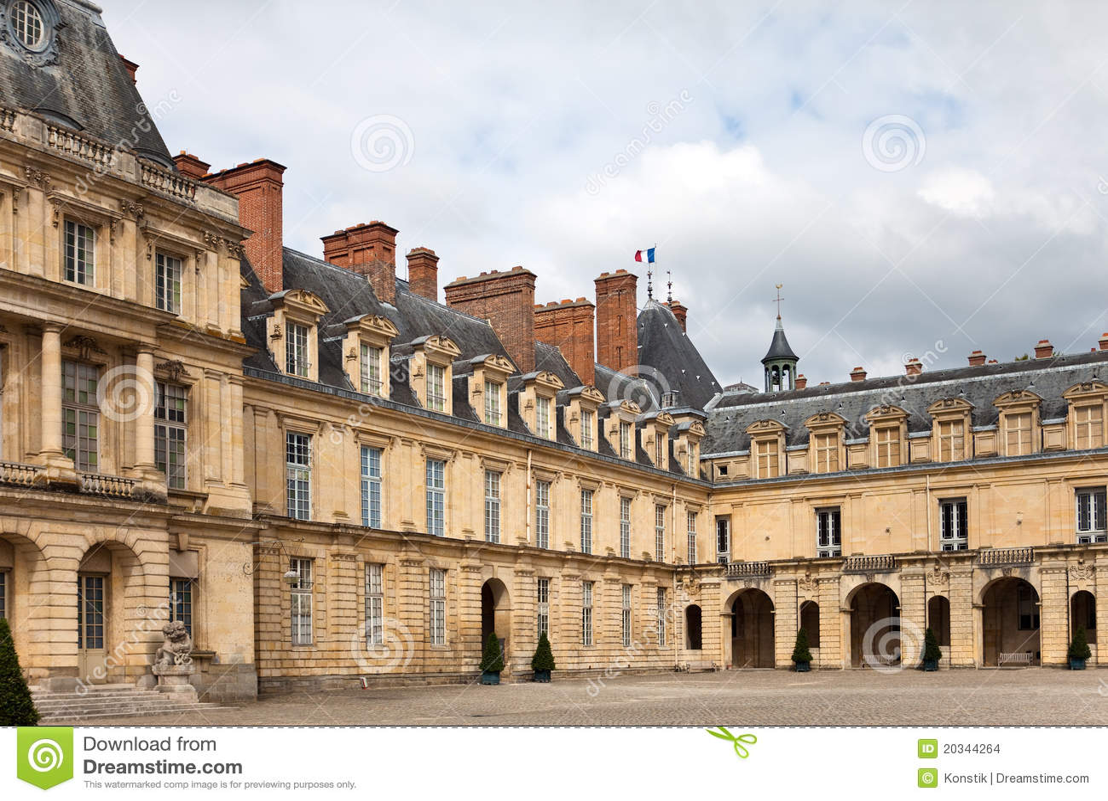 Palacio de Francia, Fontainebleau