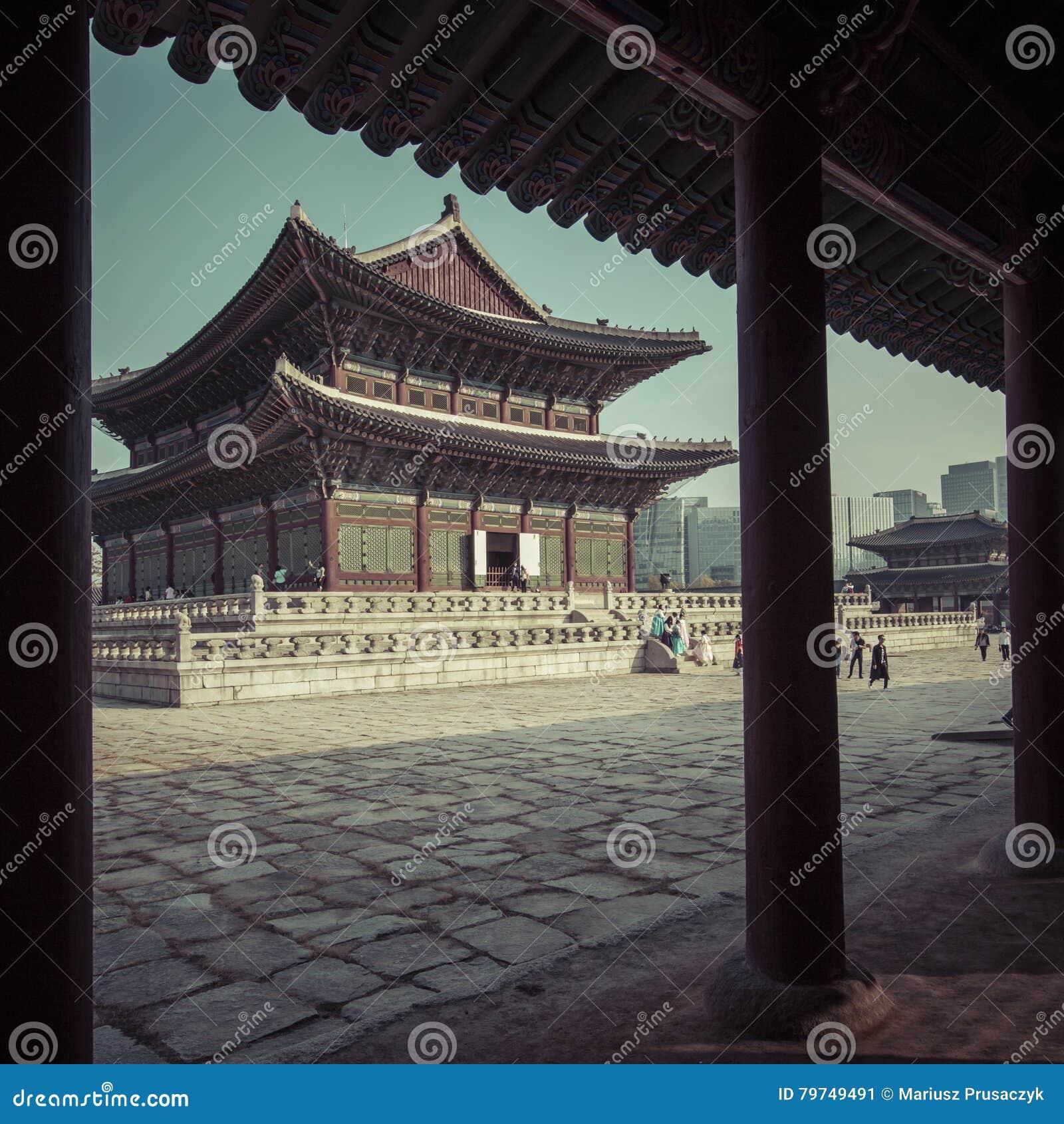 Palacio de Gyeongbokgung en Seul, Corea