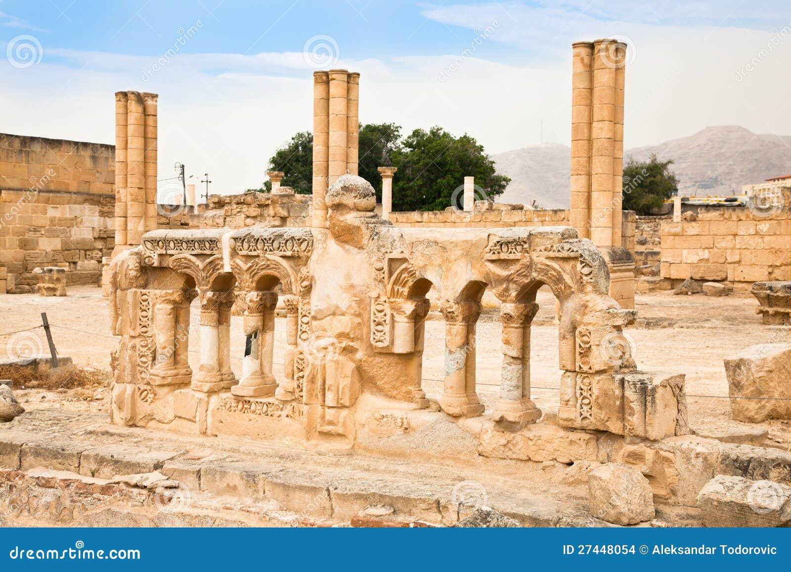 Palacio de hisham en jericho israel imagenes de archivo - Bater roca precios ...