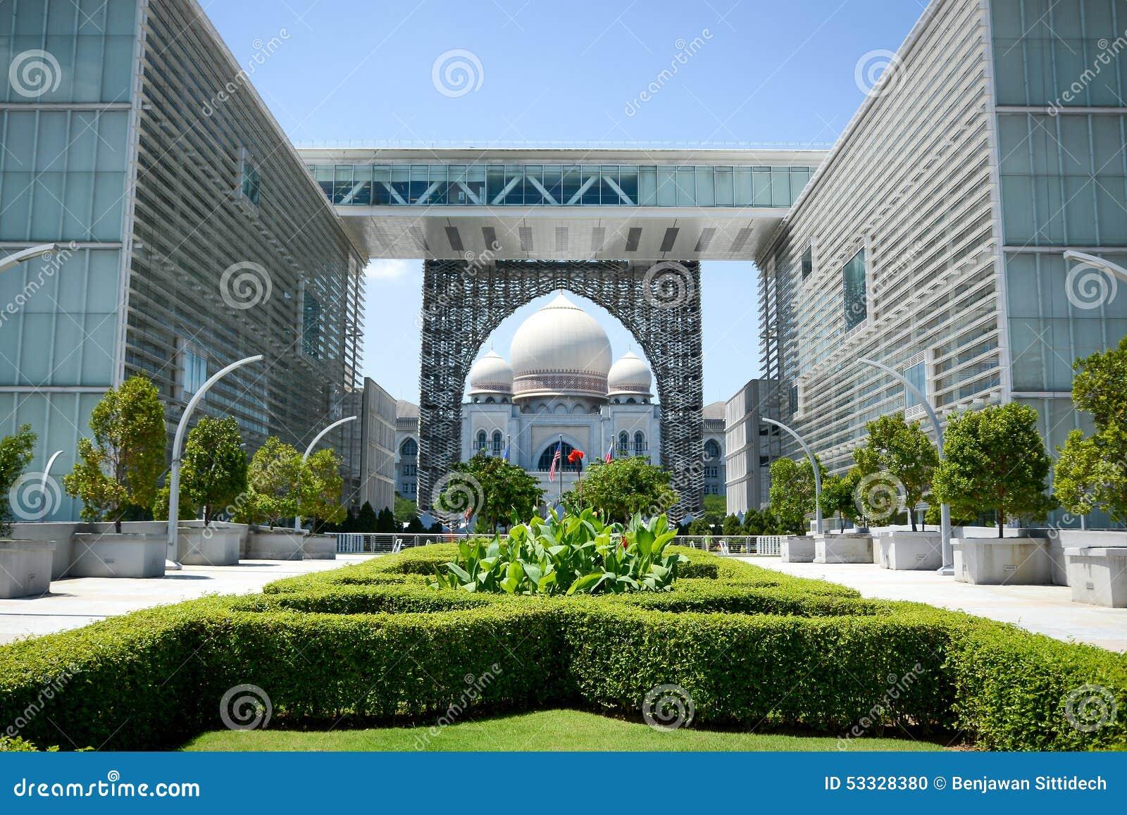 Palacio de la justicia, Putrajaya, Malasia