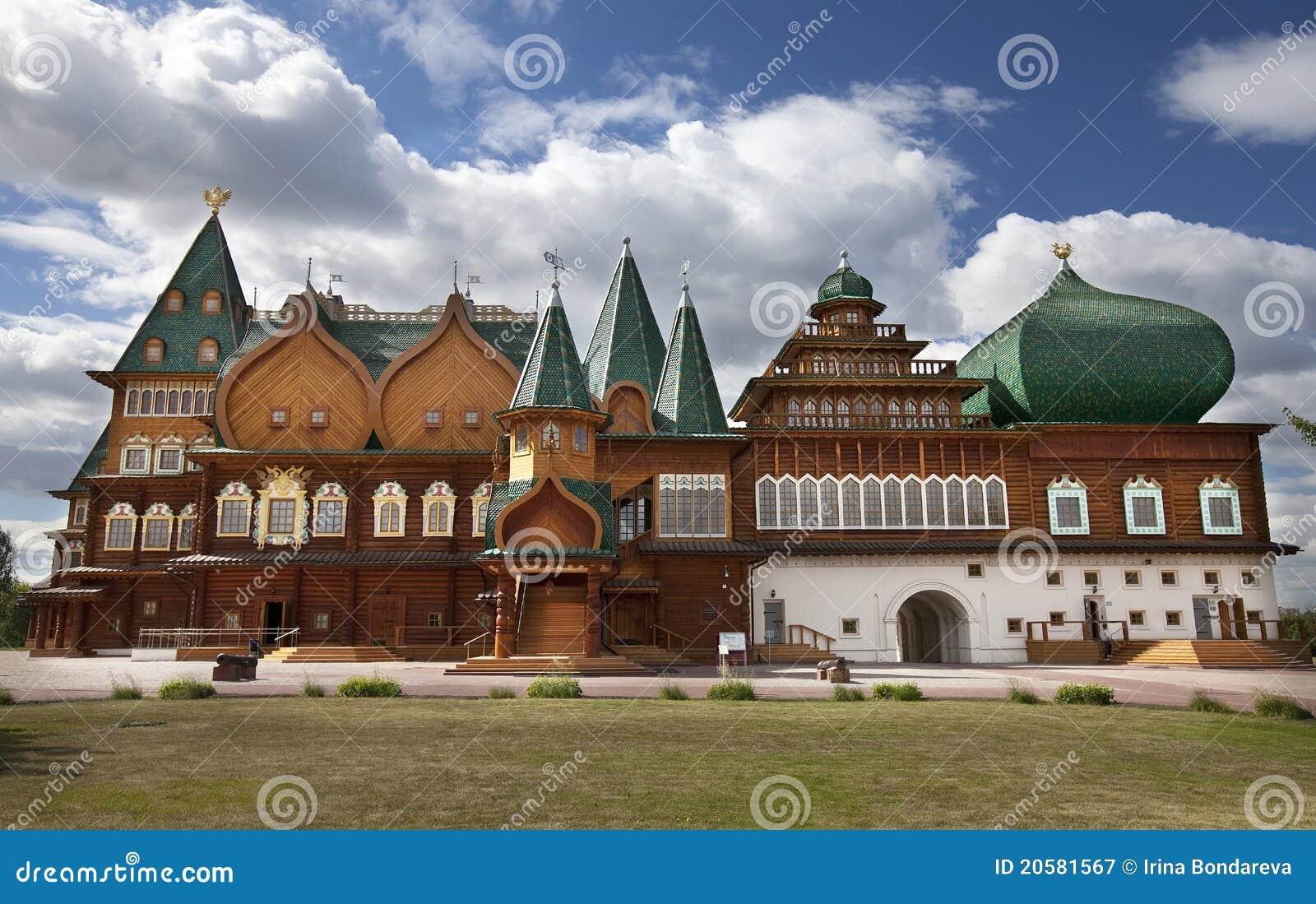 Palacio de madera en Moscú