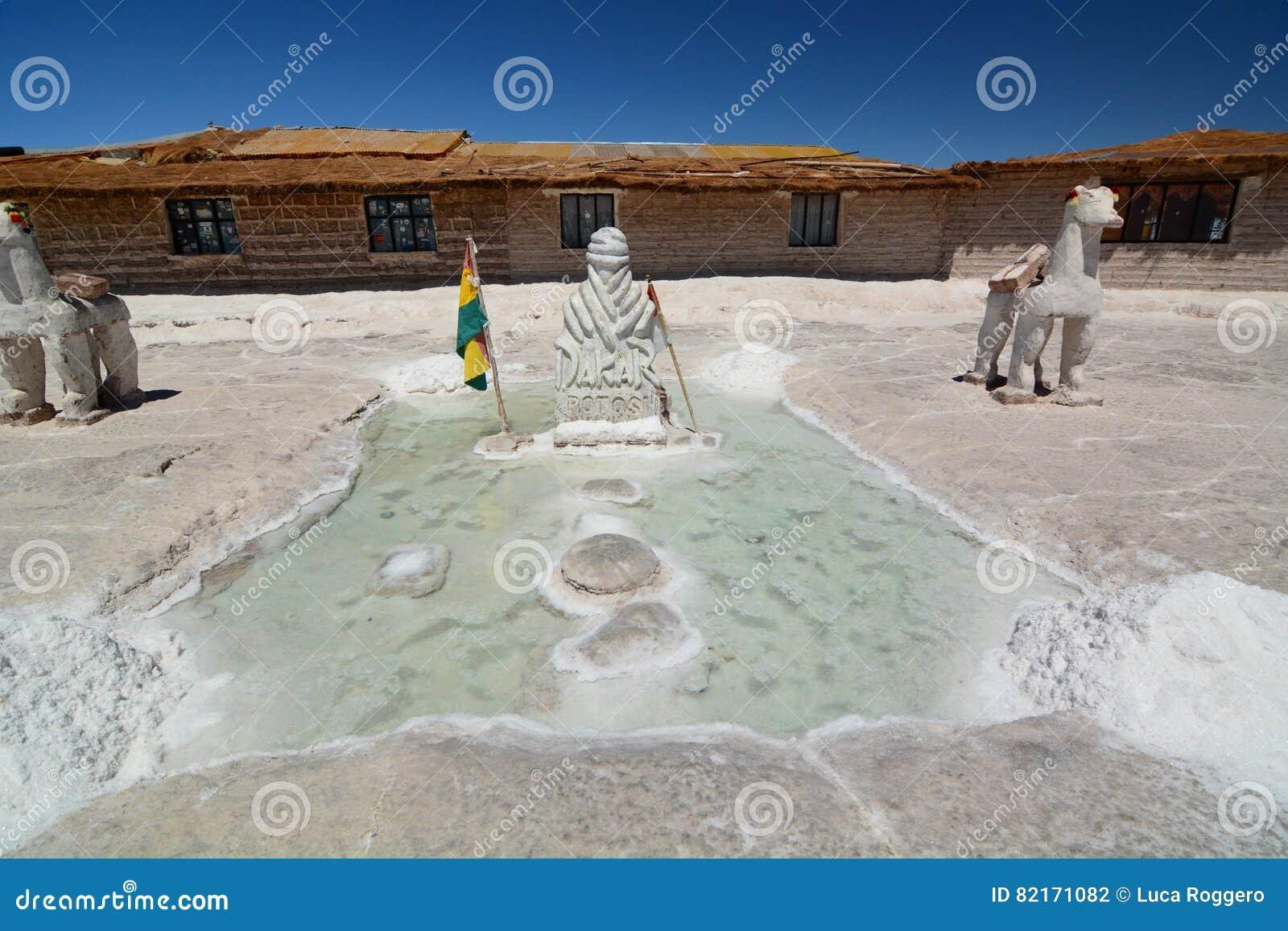 Palacio De Sal Salar De Uyuni Potosi Department Bolivia