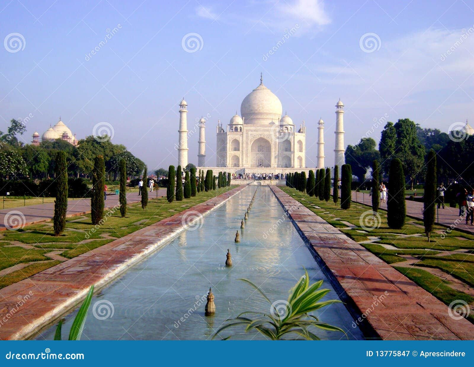 Palacio de Taj Mahal - la India
