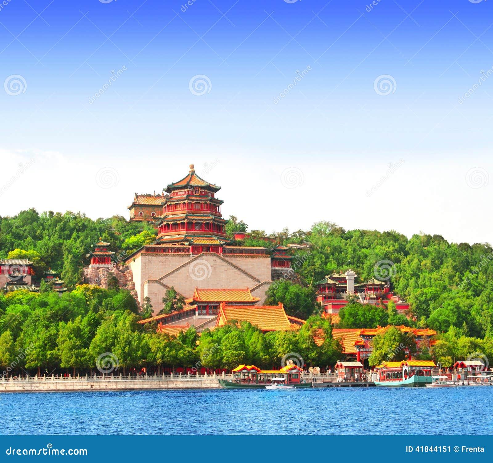 Palacio de verano en Pekín, China