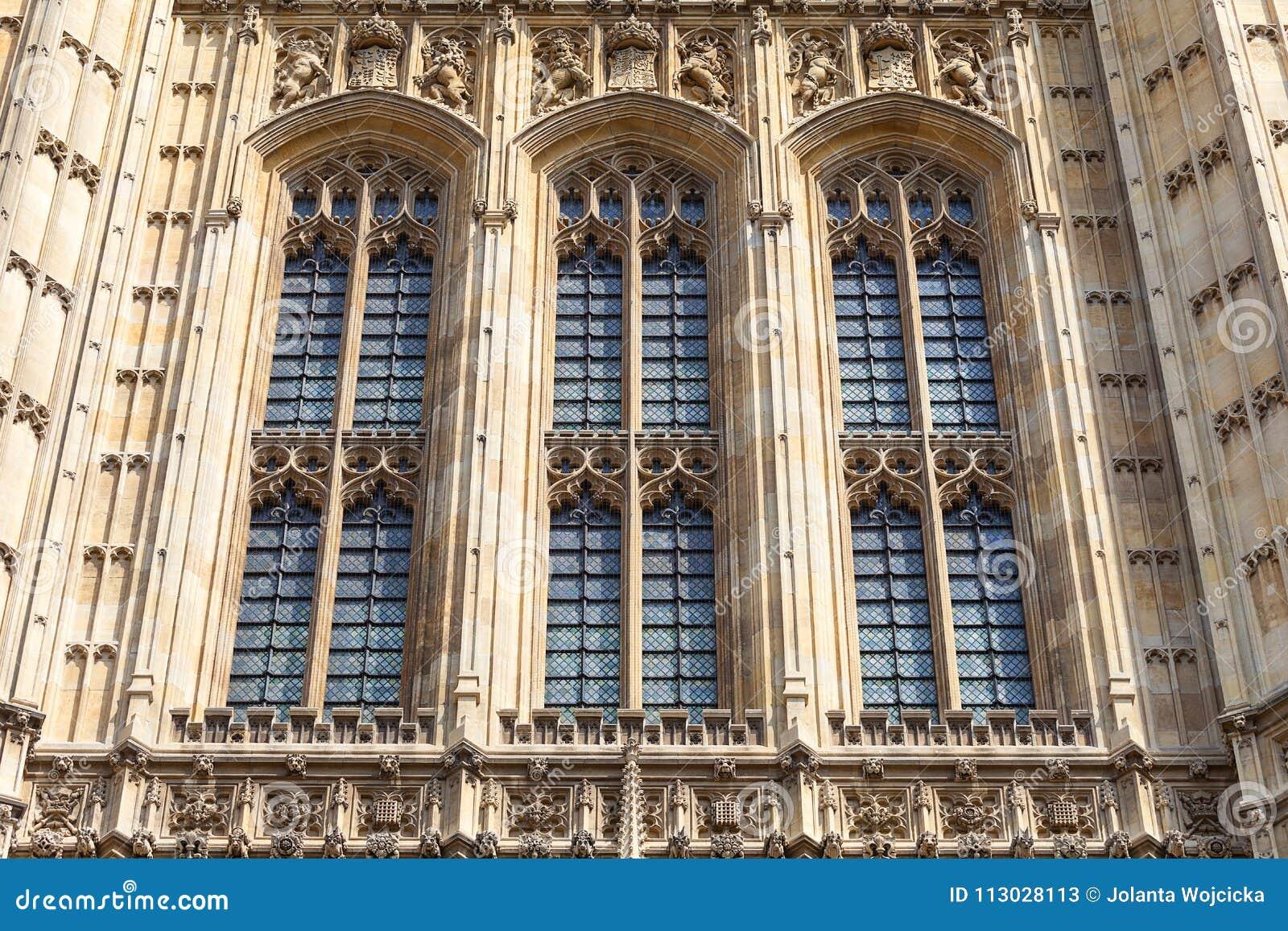 Palacio de Westminster, el parlamento, fachada, Londres, Reino Unido