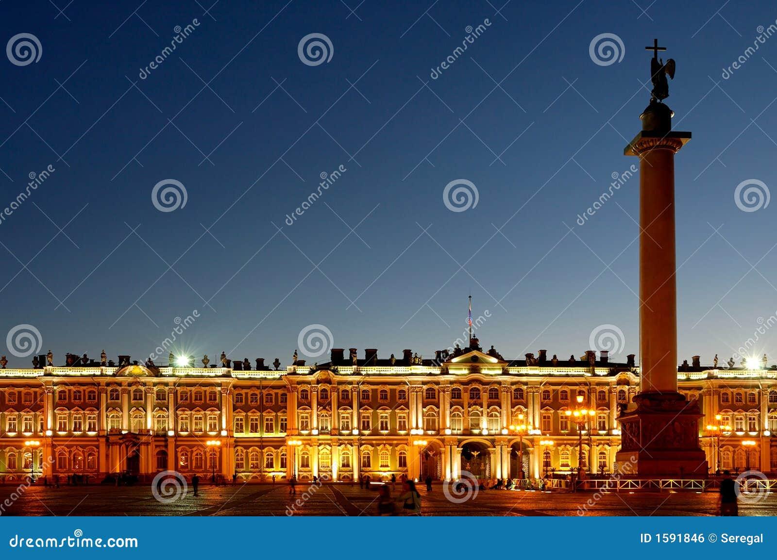 Palacio del invierno en St Petersburg, Rusia