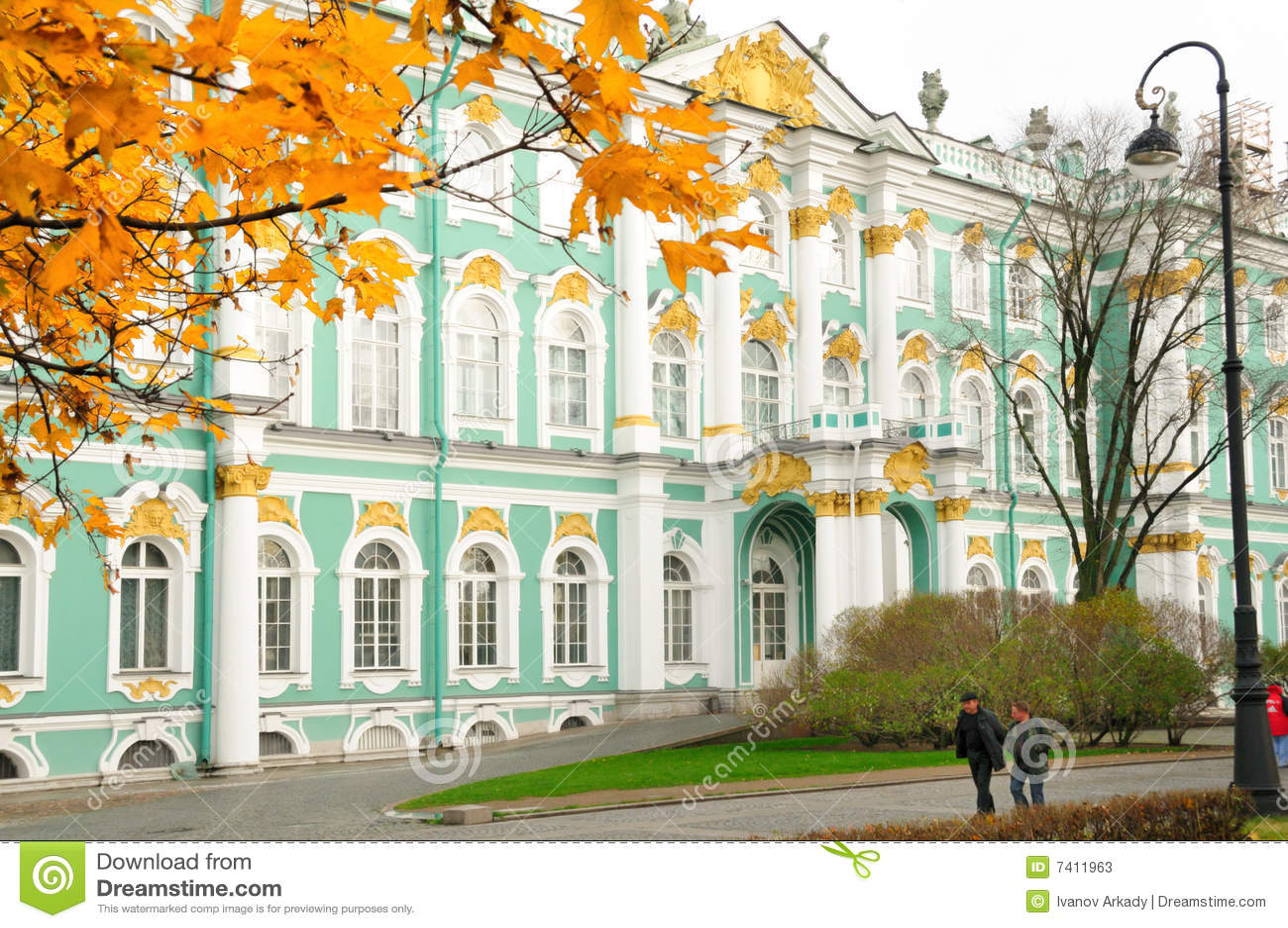 Palacio del invierno/ermita, St Petersburg, Rusia