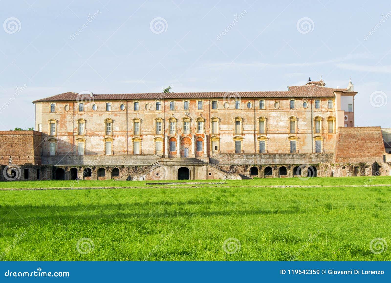 Palacio ducal de Estensi en Sassuolo, cerca de Módena, Italia
