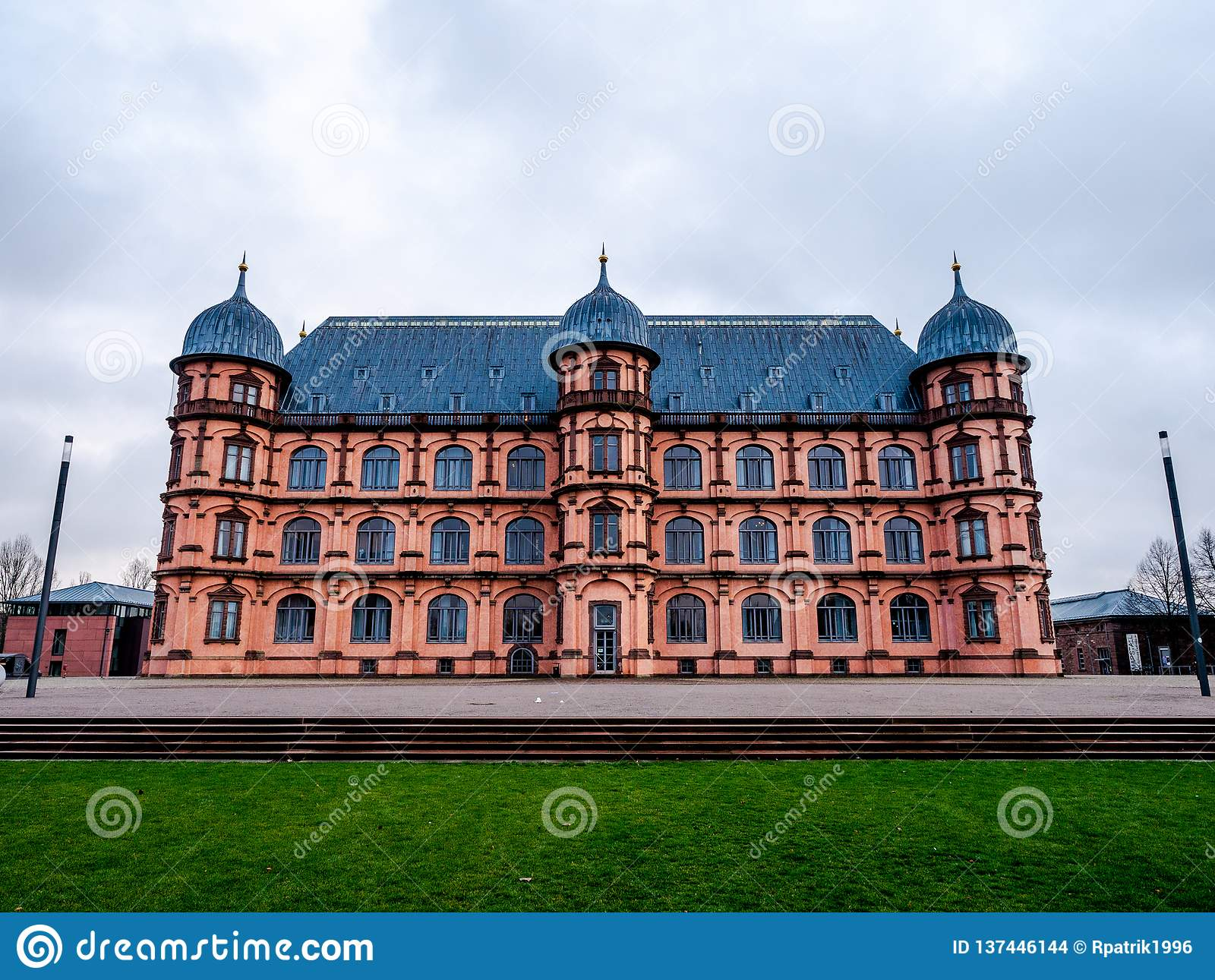 Palacio Gottesaue en Karlsruhe