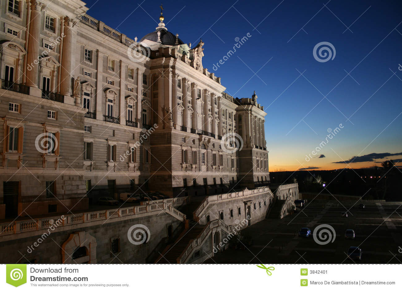 Palacio madrid реальное
