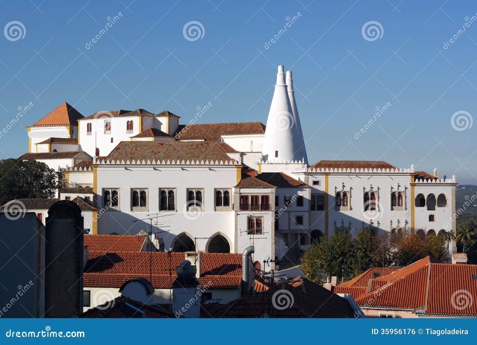 Palacio nacional de Sintra, Sintra, Portugal