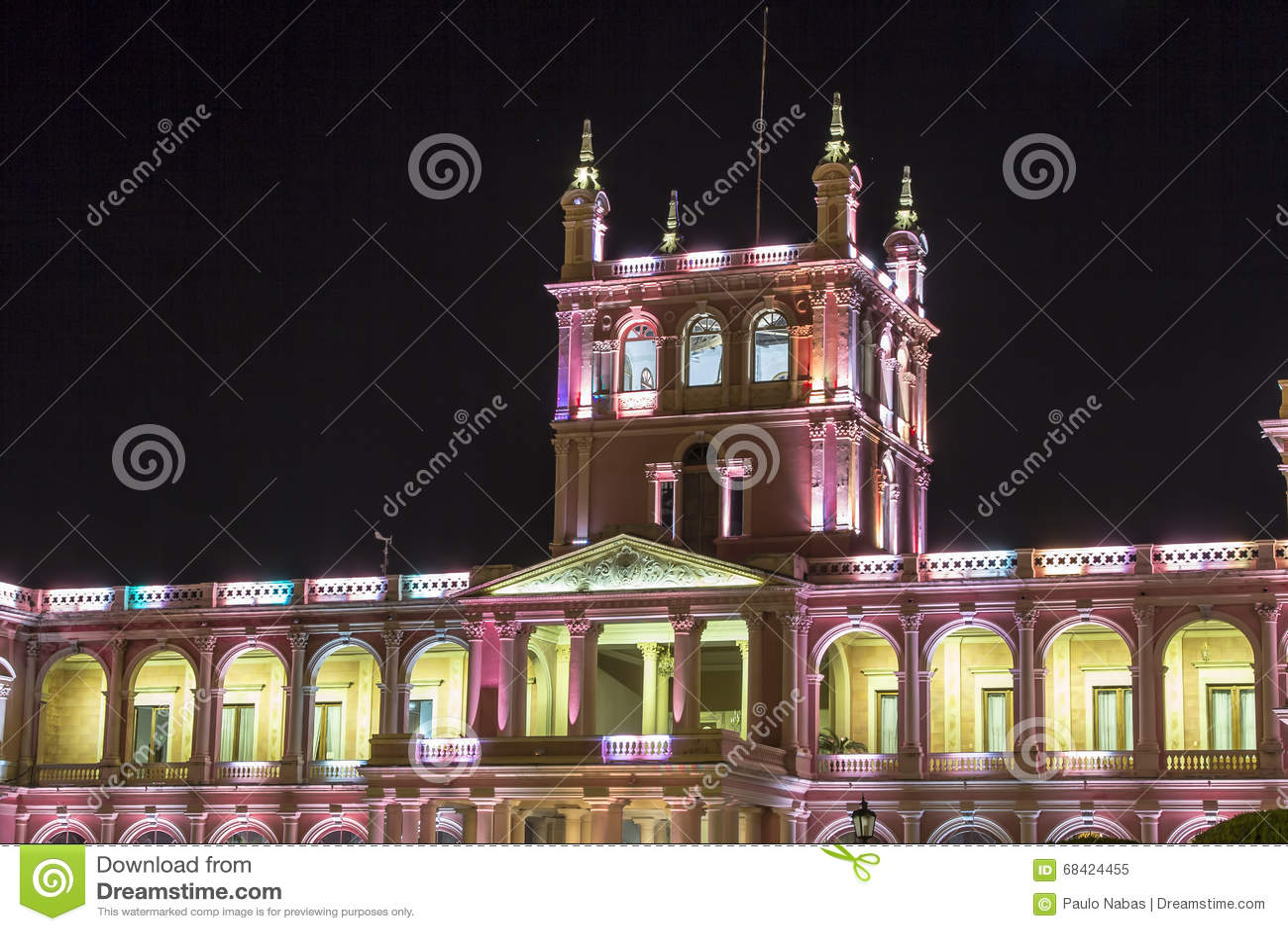 Palacio presidencial de López Capital de Asuncion, Paraguay