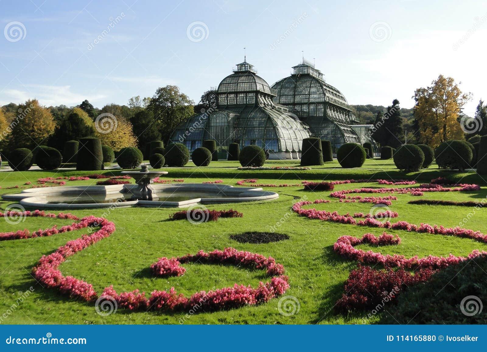 Palacio Schonbrunn de la casa de palma
