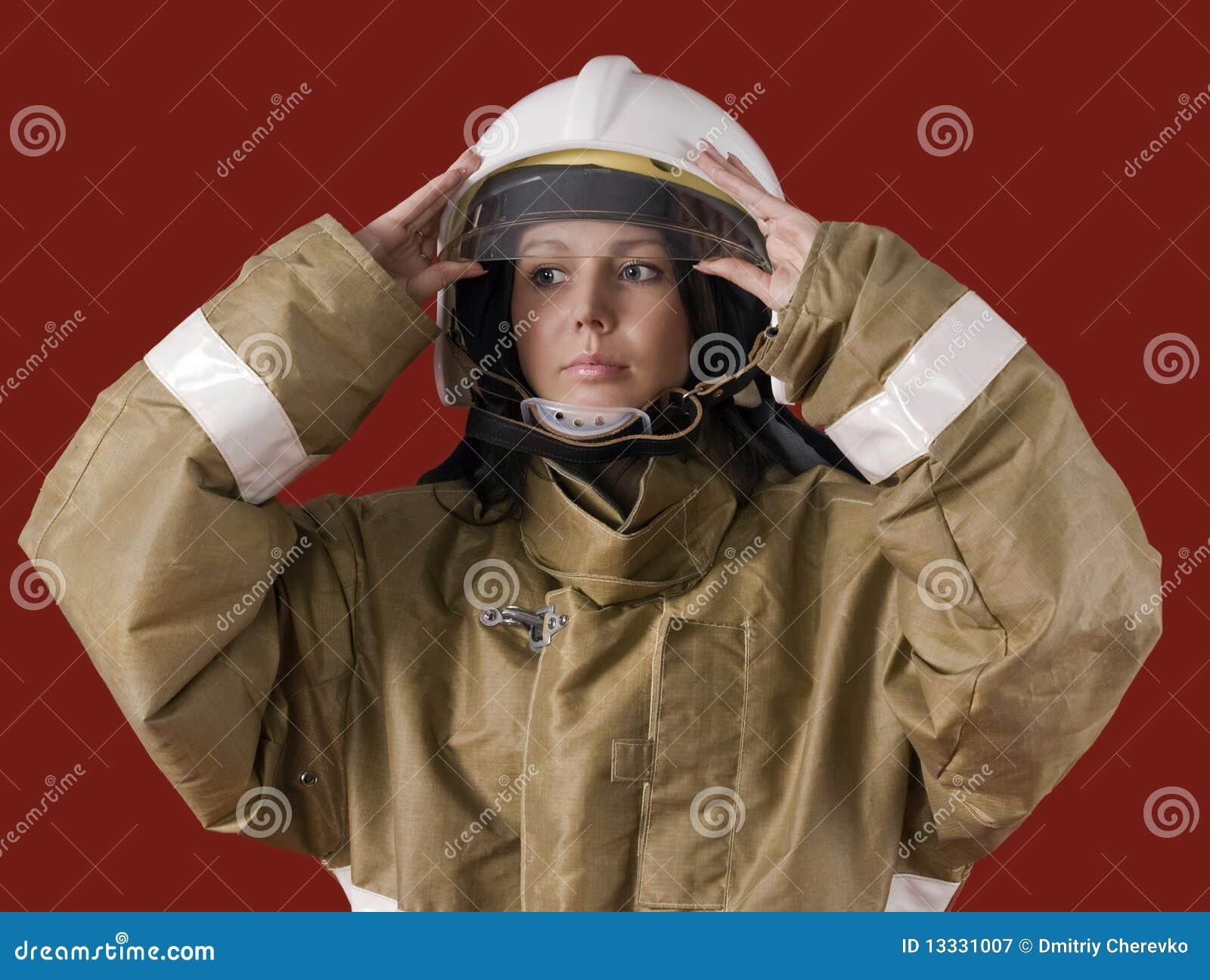Palacza dziewczyny mundur