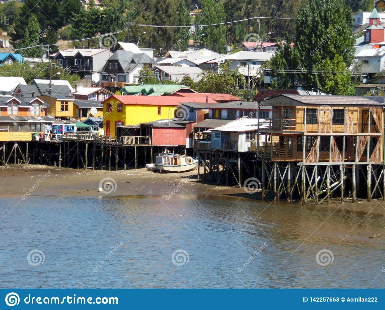 Palafitos van Chiloé