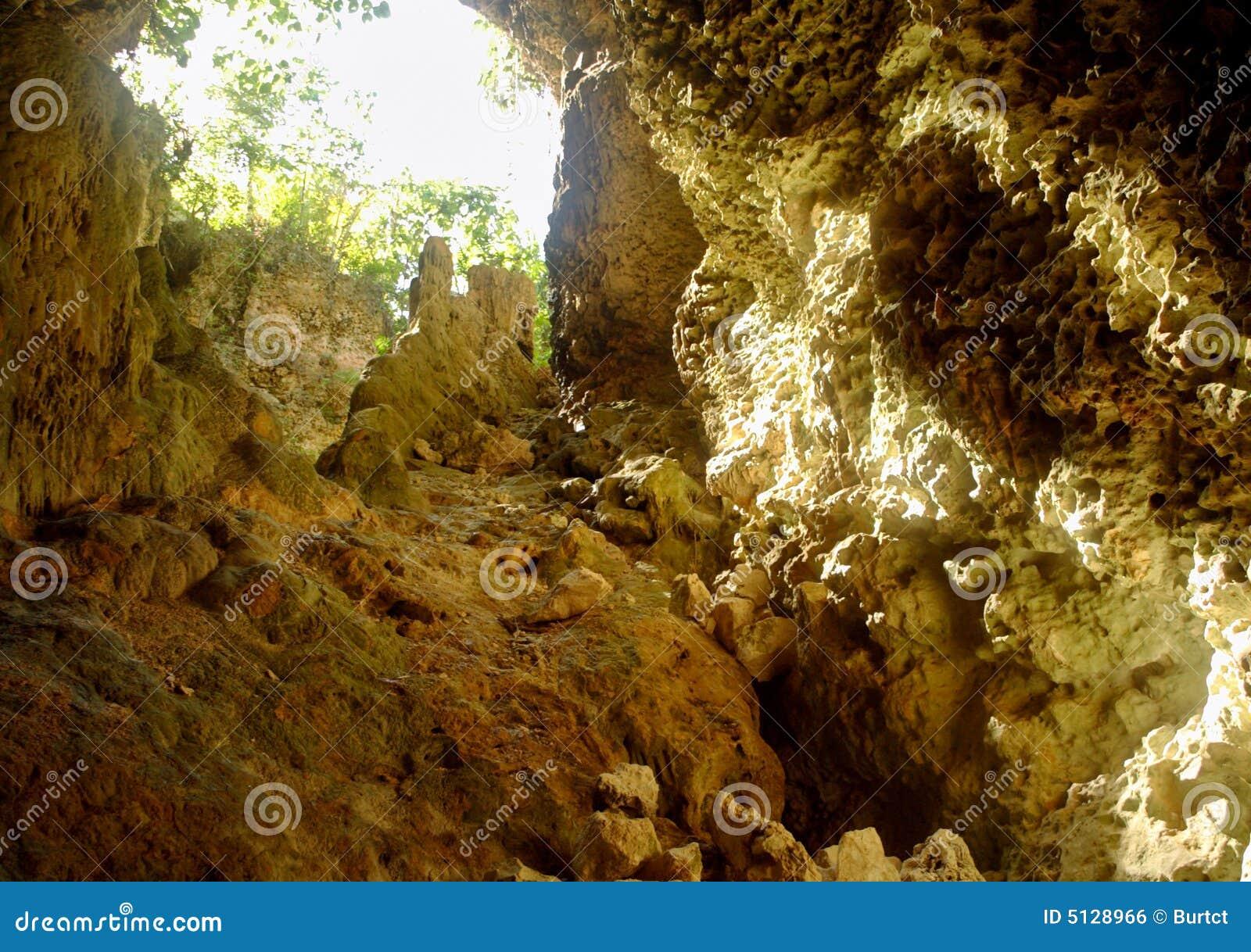 Palaha caves - looking out