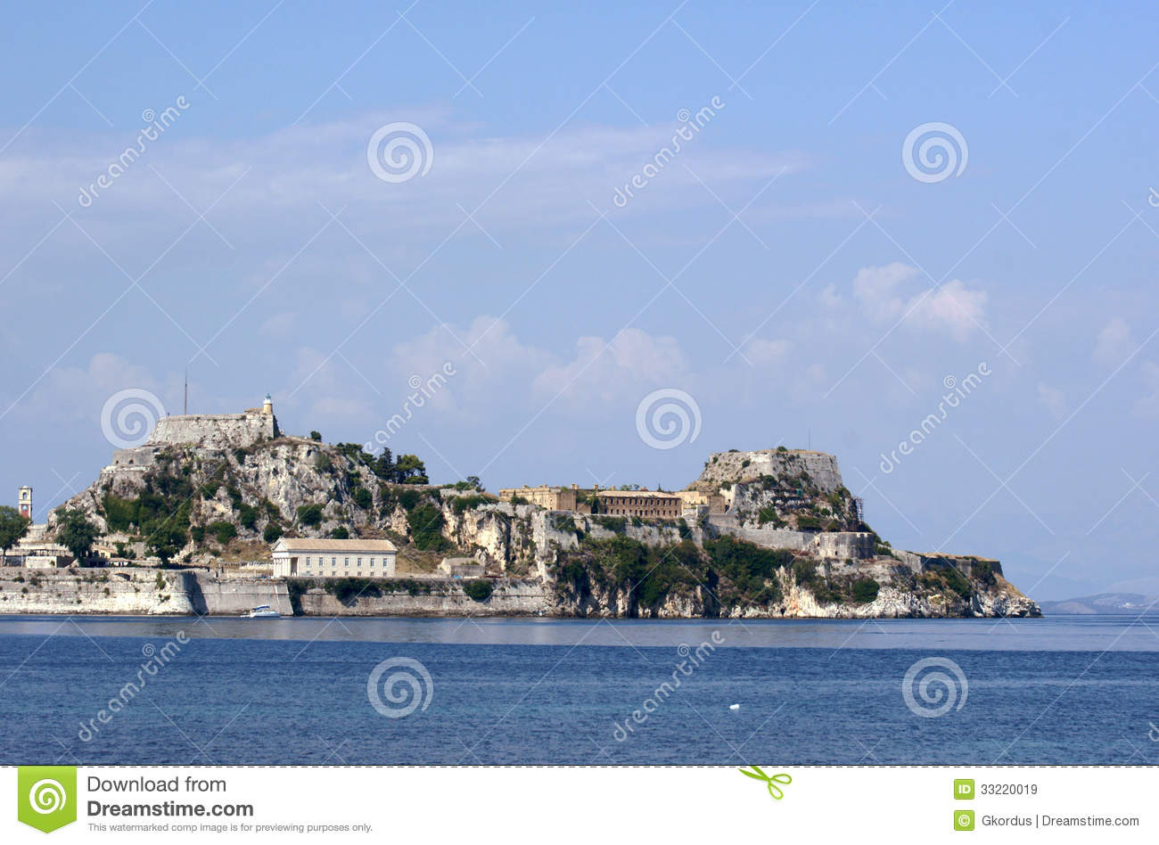Palaio Frourio Royalty Free Stock Images - Image: 33220019