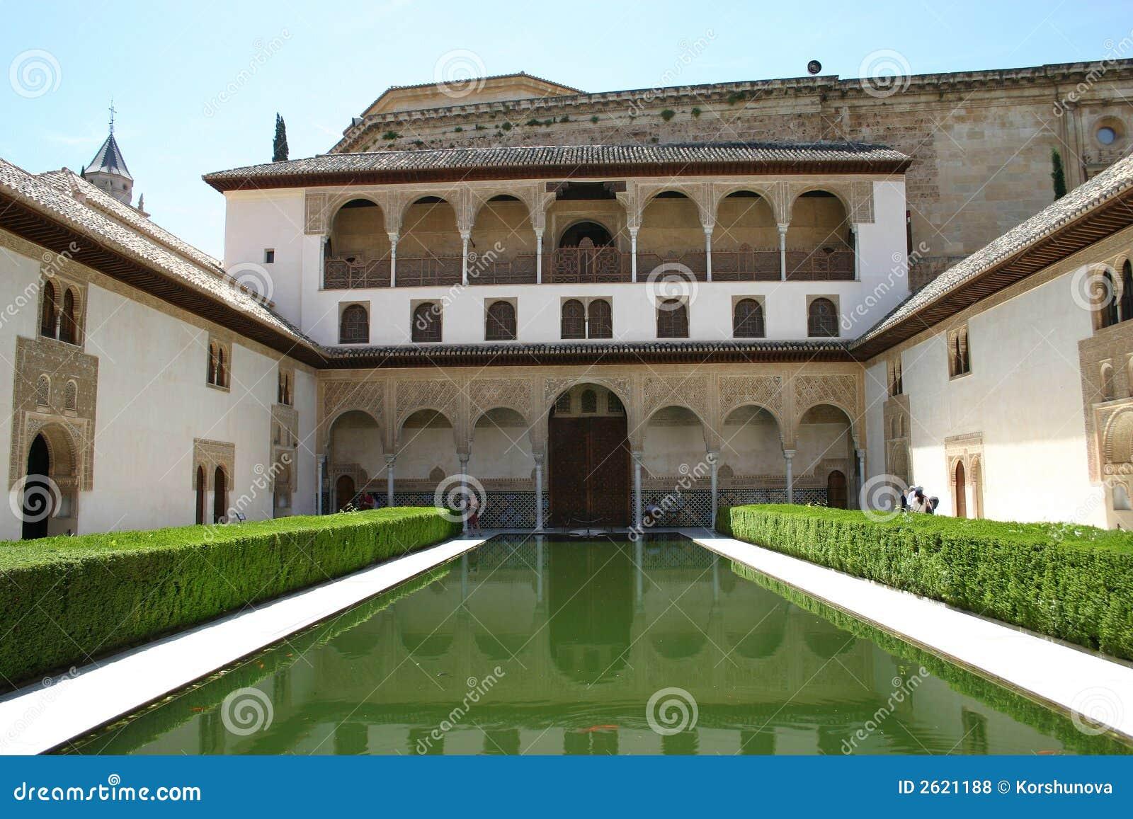 Palais d Alhambra à Grenade, Andalousie