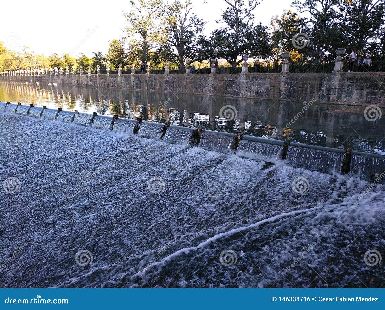 Palais d Aranjuez royal Rivi?re de Tajo