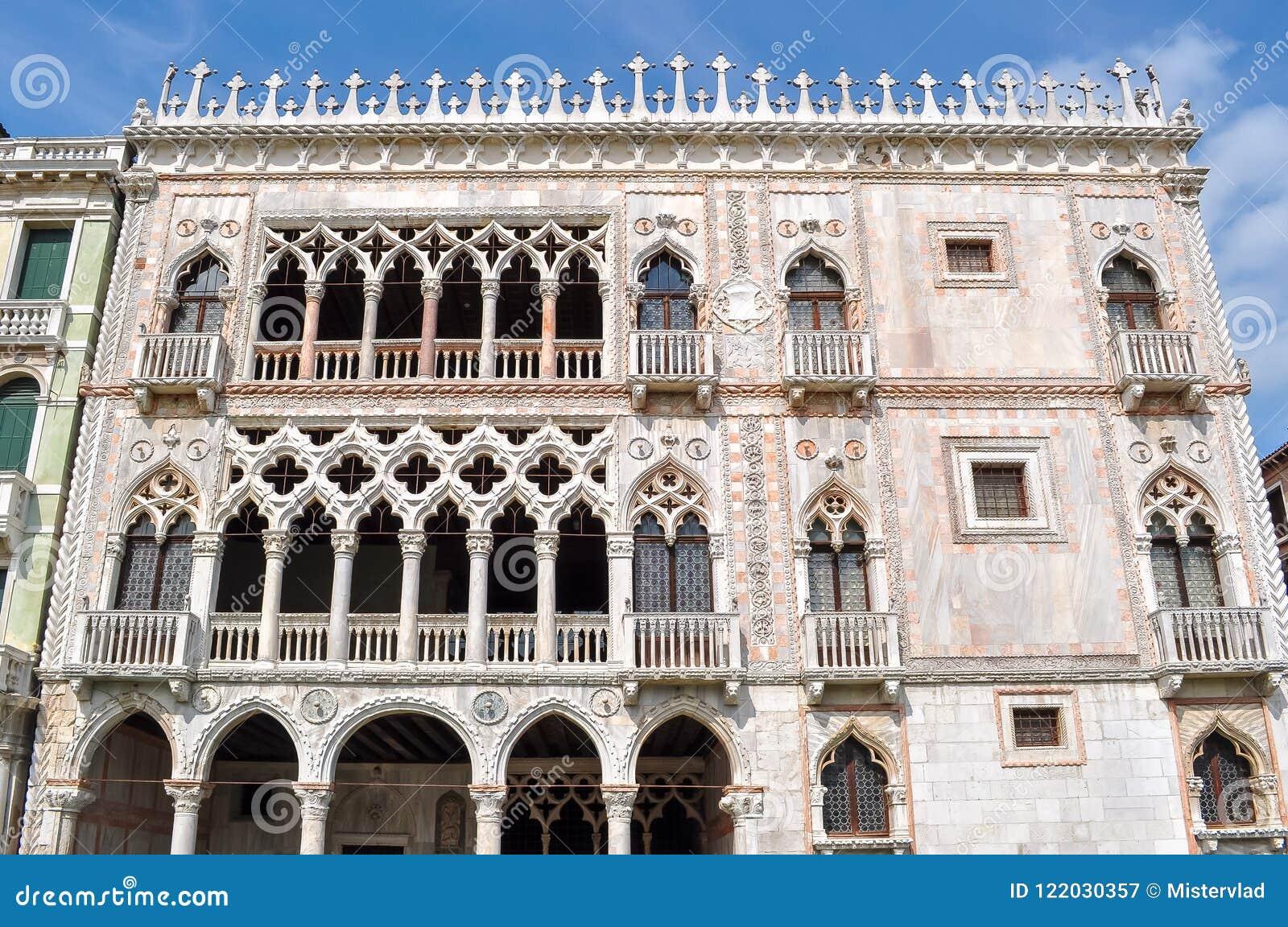 Palais d Oro de ` de Ca d, Venise, Italie