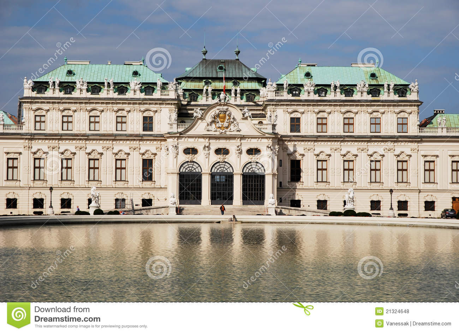 Palais de belvédère de Vienne