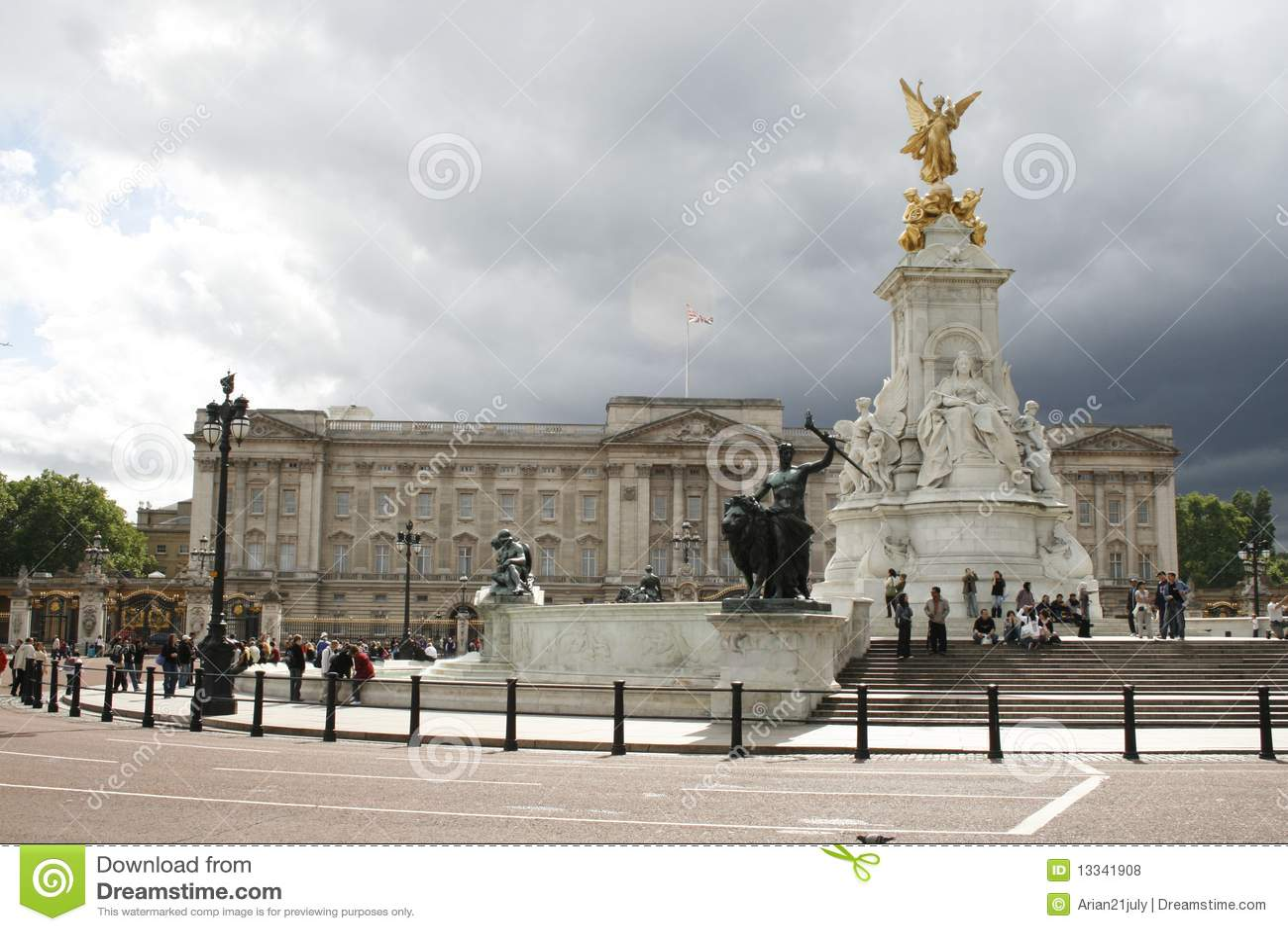 Palais de Buckingham commémoratif de Victoria Londres