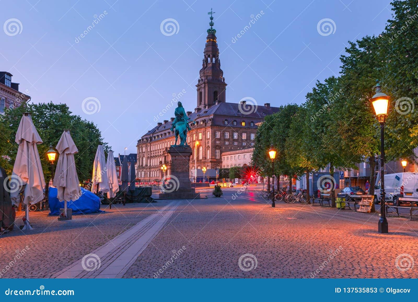 Palais de Christiansborg, Copenhague, Danemark