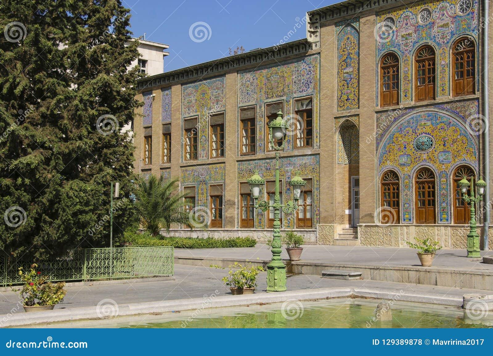 Palais de Golestan, un site d héritage de l UNESCO à Téhéran, Iran