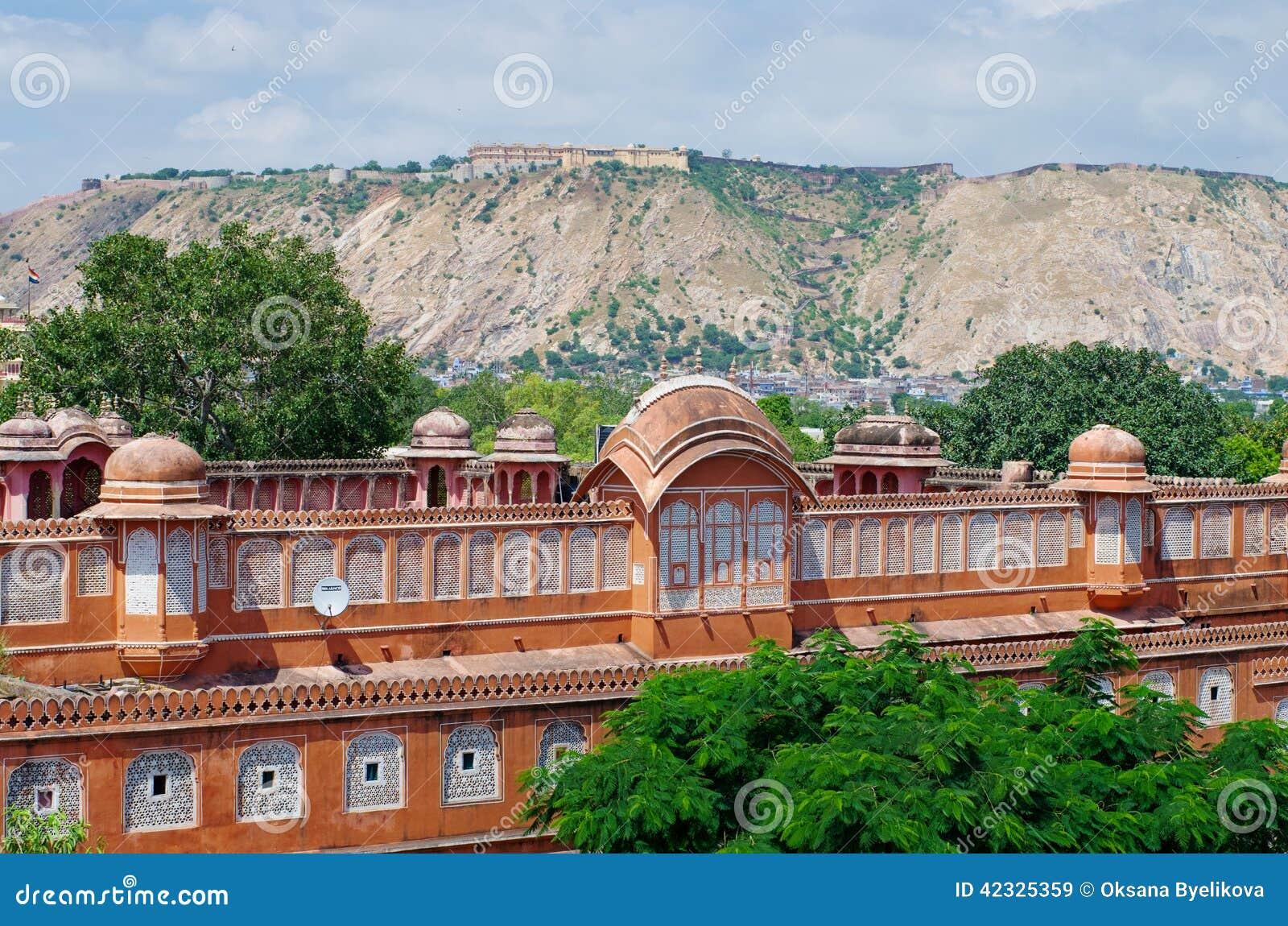 Palais de Hawa Mahal à Jaipur, Ràjasthàn