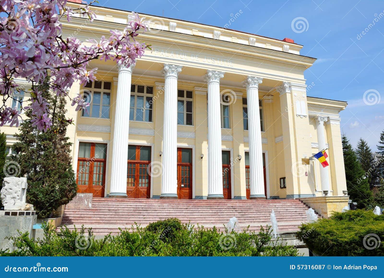 Palais de justice, Ramnicu Valcea, Roumanie/Palatul de Justitie