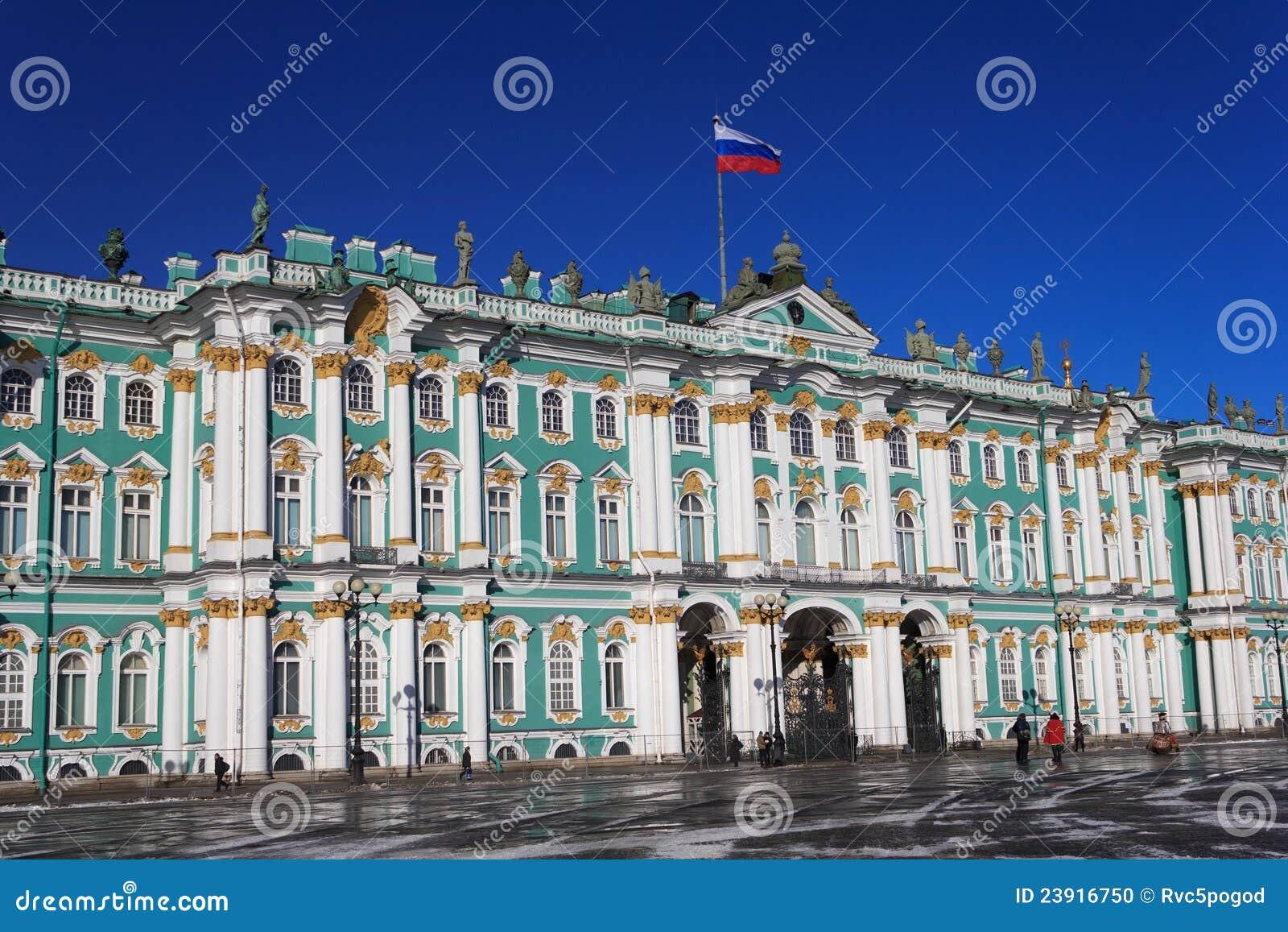 Palais de l hiver, St Petersburg, Russie
