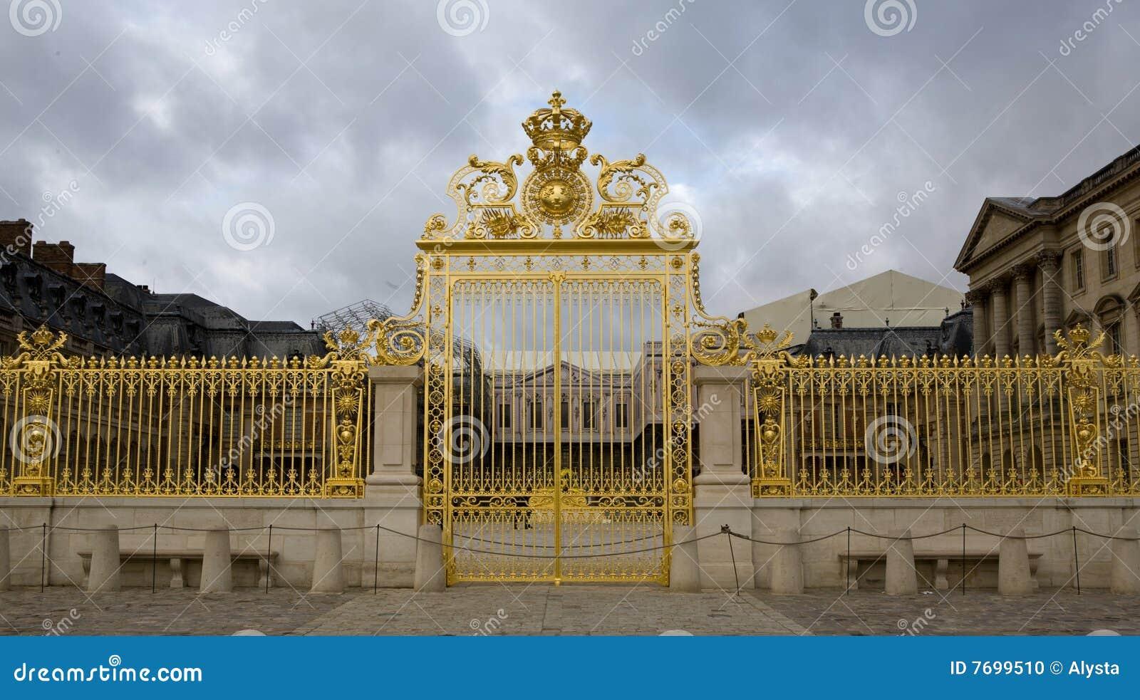 Palais de porte d 39 or de versailles france photo stock image du d coratif grille 7699510 - Palais des expositions porte de versailles ...