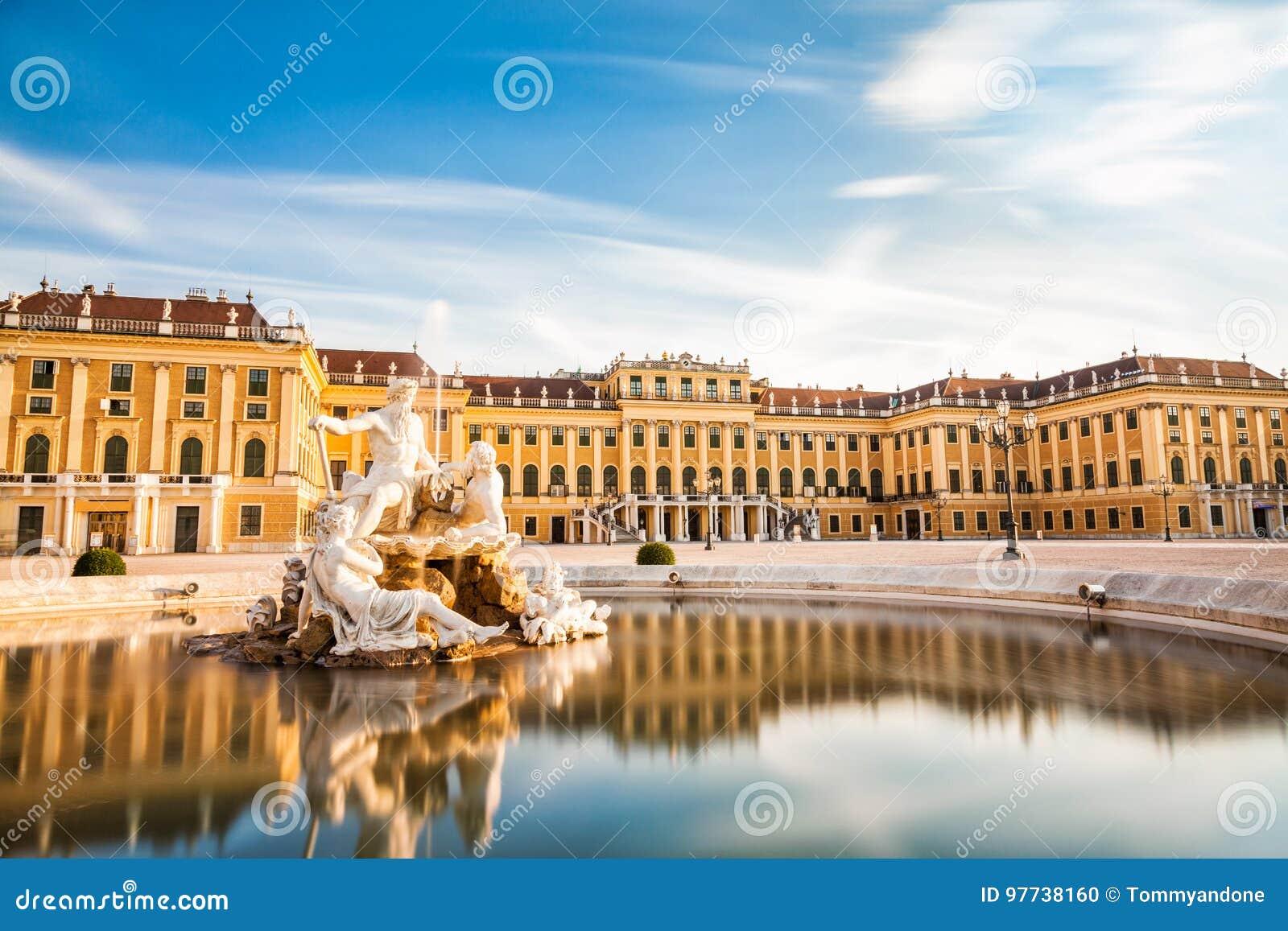 Palais de Schonbrunn à Vienne, Autriche