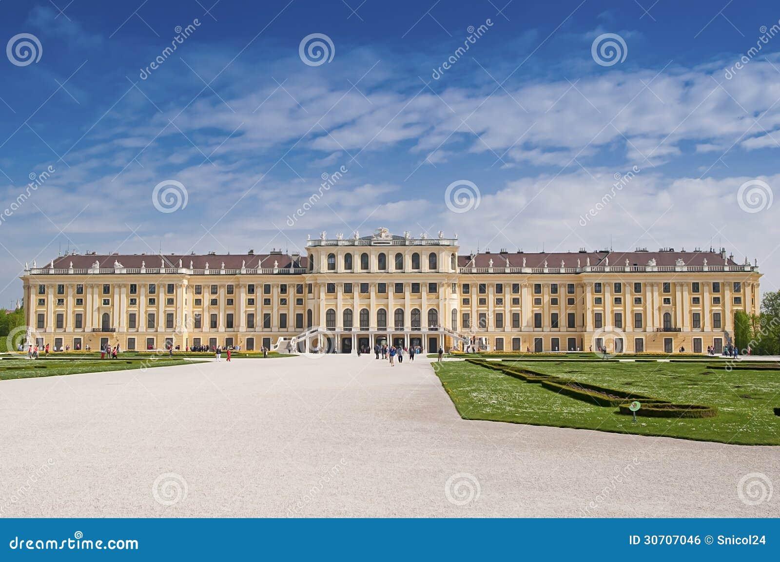 Palais de Vienne Schonbrunn