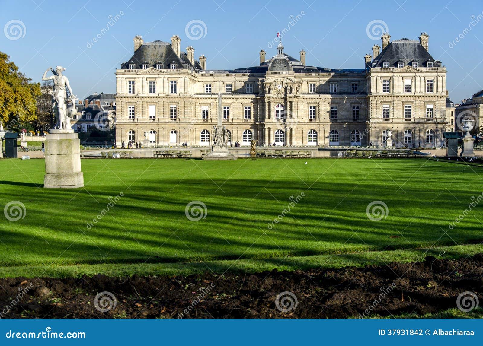 Palais du Люксембург. Париж. Франция.