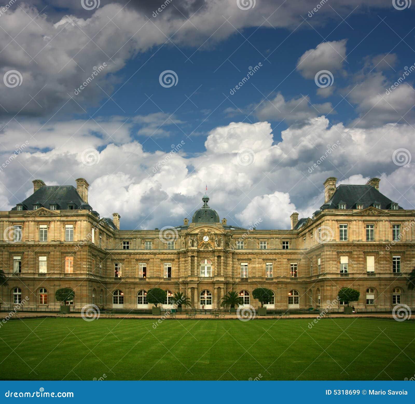 Download Palais du Lussemburgo immagine stock. Immagine di ricco - 5318699