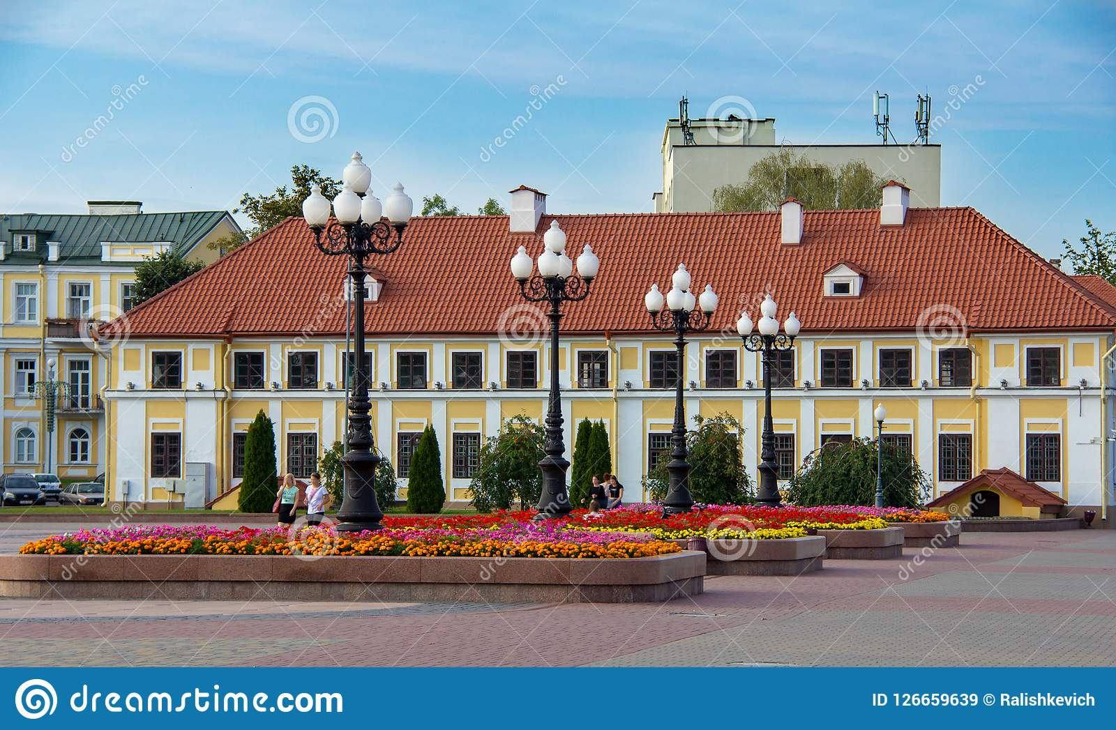 Palais du Vice-administrateur au centre de Grodno