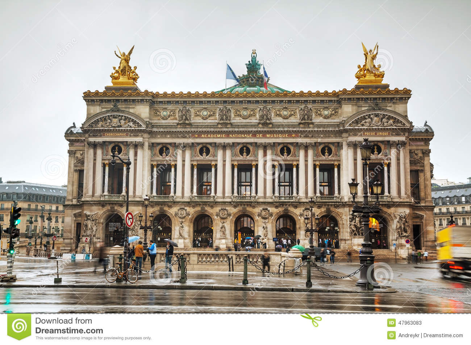 Paris Opera House Phantom Tour