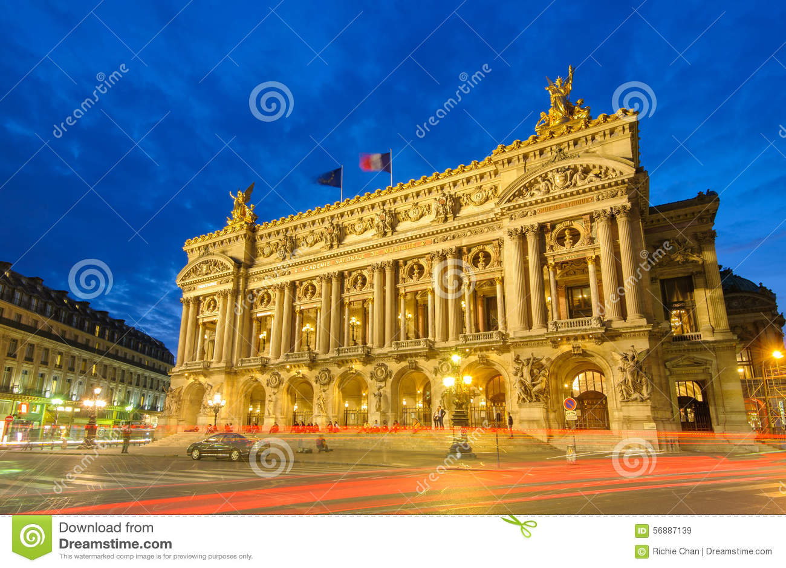 Palais Garnier, opera a Parigi