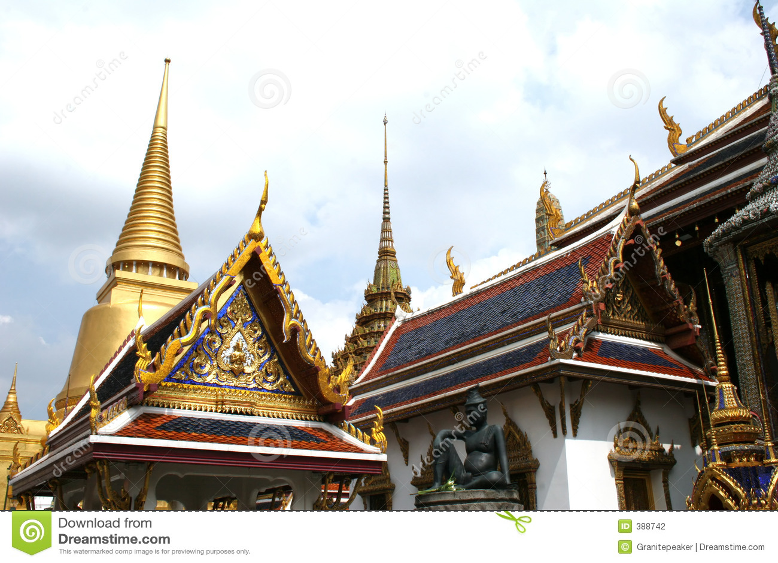 Palais grand - Thaïlande