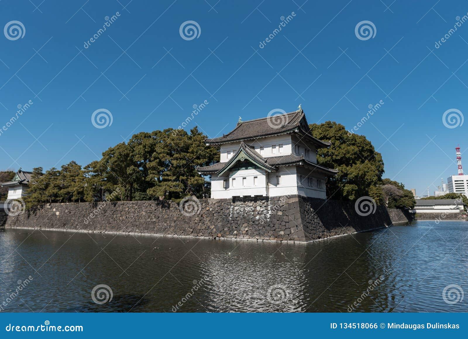 Palais impérial de Tokyo à Tokyo, Japon
