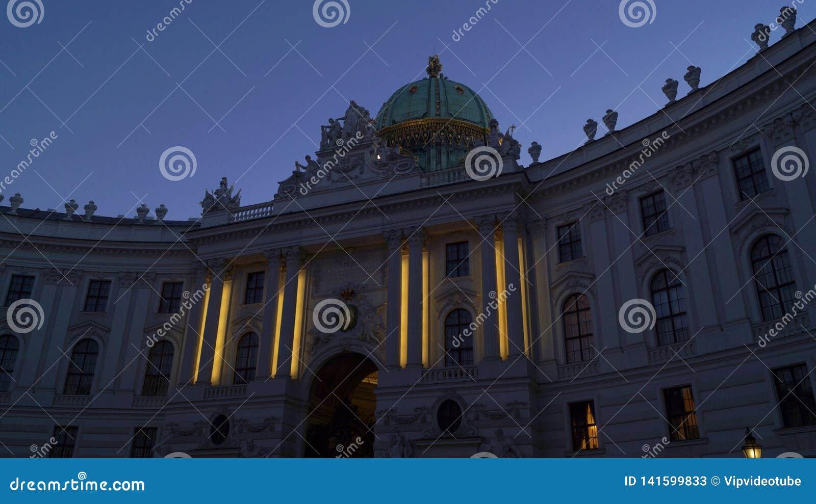 Palais impérial Hofburg à Vienne