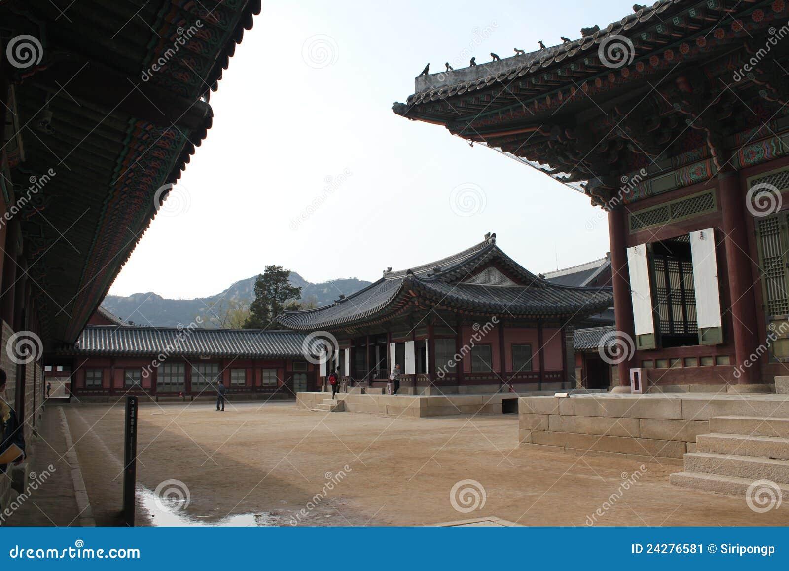 Palais intérieur de Gyeongbokgung