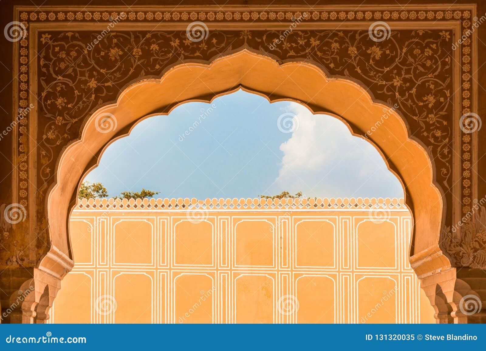 Palais intérieur de ville de Jaipur