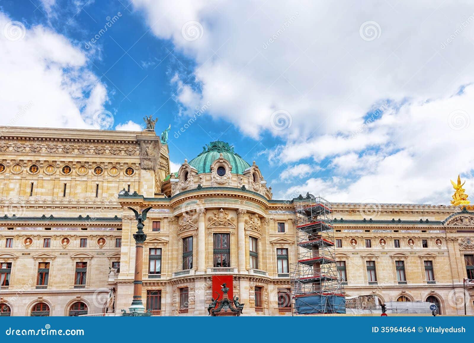 Palais o ópera Garnier