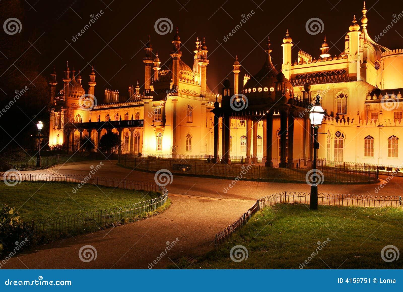 Palais royal de pavillon à Brighton