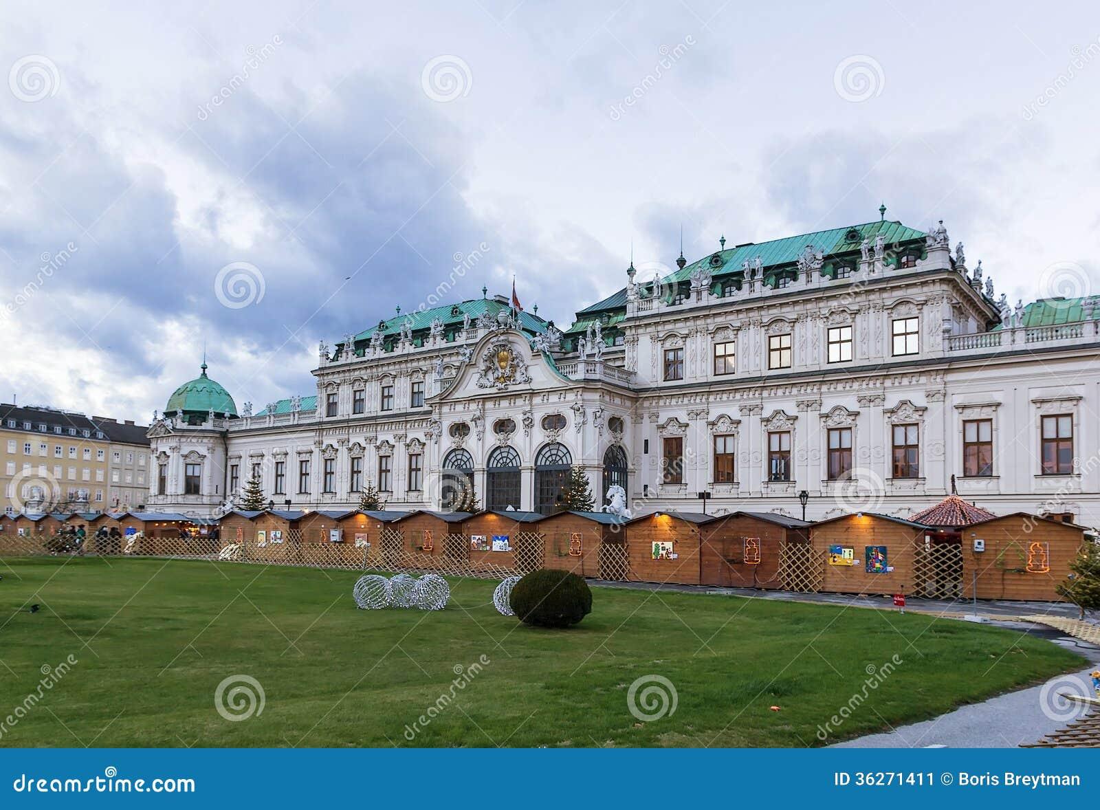 Palais supérieur de belvédère. Vienne