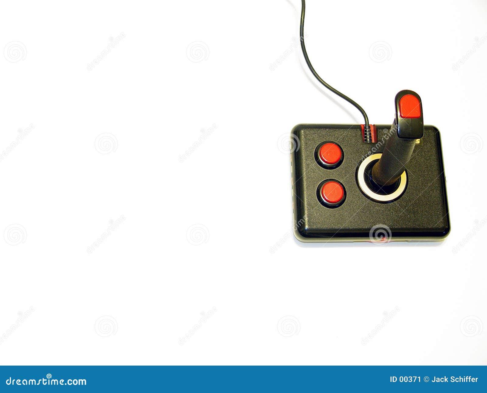 Palanca de mando del ordenador